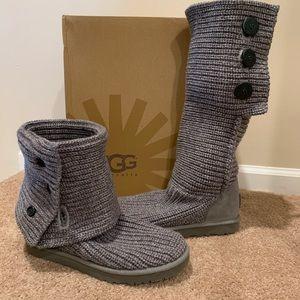 UGG Classic Cardy II Boots. Size 9. Like new.
